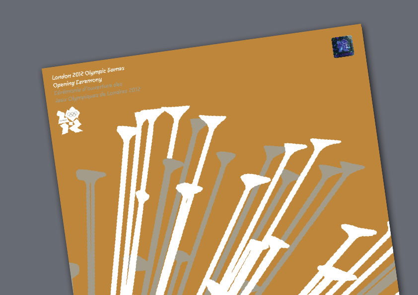 Olympic Games 2012 brochures