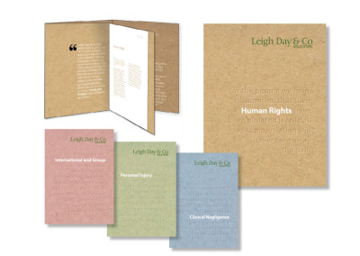 Leigh Day & Co brochure
