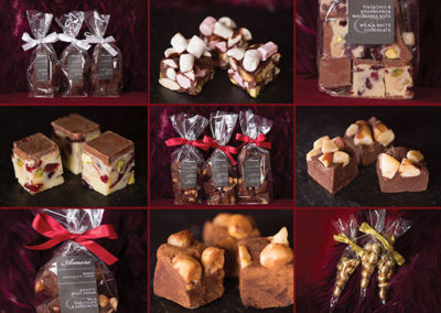 Amore Chocolates leaflet