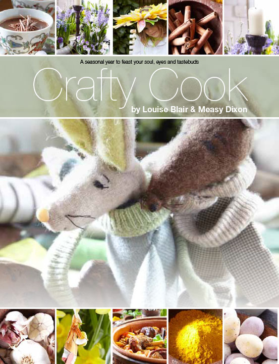 Book Design for Crafty Cooks cover