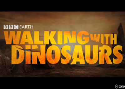 BBC Walking with Dinosaurs game design